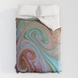 Wonders of Food Color Comforters