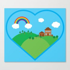 We Love This Place Canvas Print