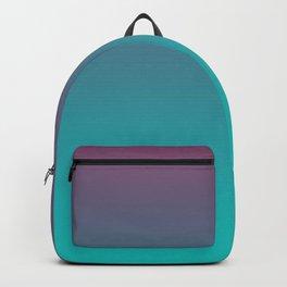 OCEANIC LOVE - Minimal Plain Soft Mood Color Blend Prints Backpack