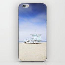 Zuma Beach Lifeguard Hut - Long Exposure iPhone Skin