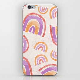 My Kind of Rainbow iPhone Skin