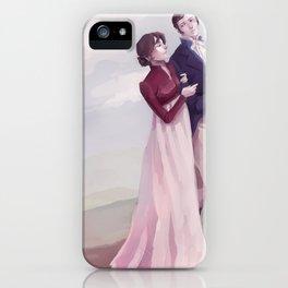 Elizabeth and Fitzwilliam Darcy iPhone Case