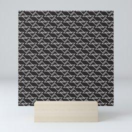 Zigzag Mini Art Print