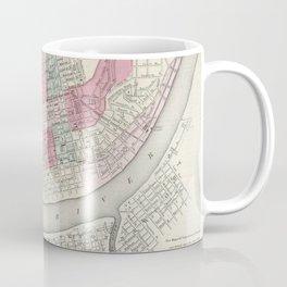 Vintage Map of Cincinnati OH (1865) Coffee Mug
