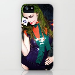 I believe whatever doesn't kill you, simply makes you…stranger. iPhone Case