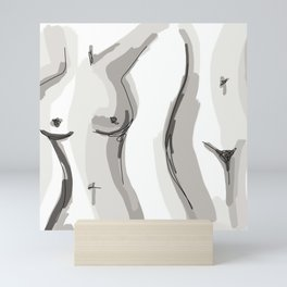 Nude Belly Mini Art Print