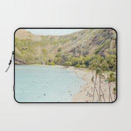 Sunshiny Day, Hawaii Beach Photography Laptop Sleeve