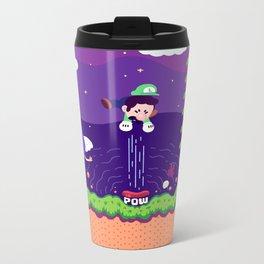 Tiny Worlds - Super Mario Bros. 2: Luigi Metal Travel Mug