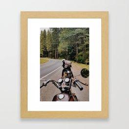 Travels with Chris Framed Art Print