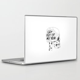 Get Out Of My Head Laptop & iPad Skin