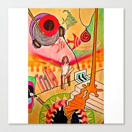 jumblr Canvas Print