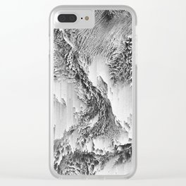 Atlas Collection #2 Clear iPhone Case