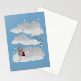 A cloudy day Stationery Cards