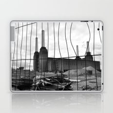 BATTERSEA POWER STATION BEHIND BARRIERS Laptop & iPad Skin