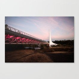 Sundial Bridge - Redding, CA Canvas Print
