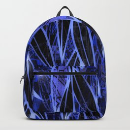 Blue Bamboo Night Print Backpack