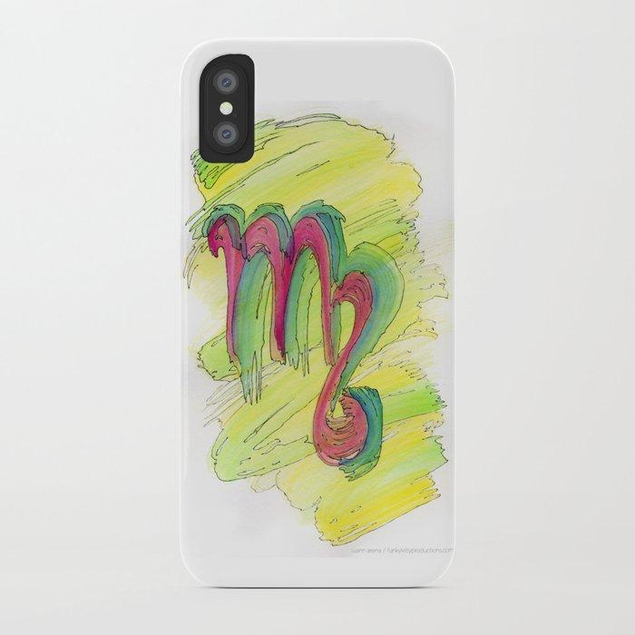 Virgo Flow iPhone Case