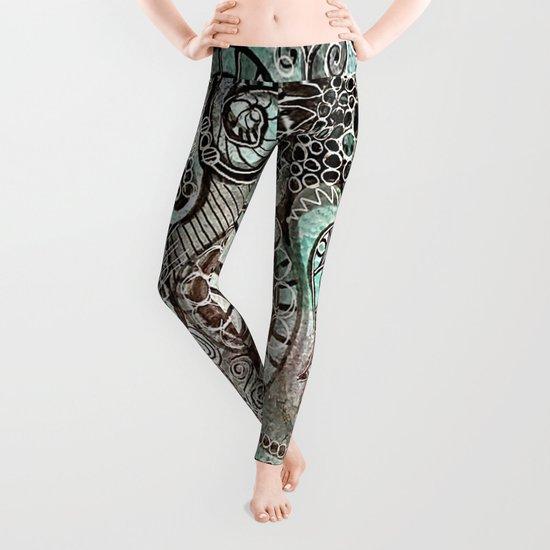 Journal Swirl Leggings