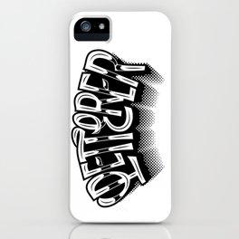 Letterer iPhone Case