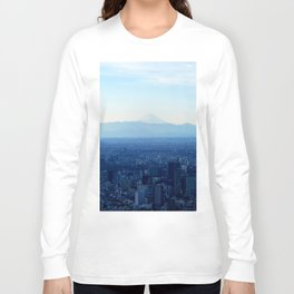Fuji in the Distance Long Sleeve T-shirt