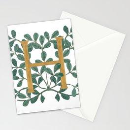 Forest Letter H Lite 2020 Stationery Cards