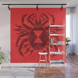 black widow spider Wall Mural