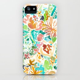 SANTA CRUZ FLORAL iPhone Case