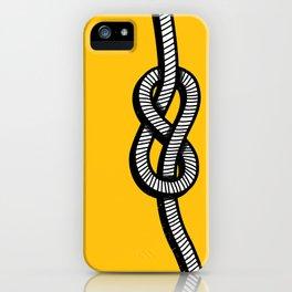 Figure 8 knot iPhone Case