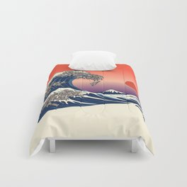 The Great Wave of Sloth Comforters