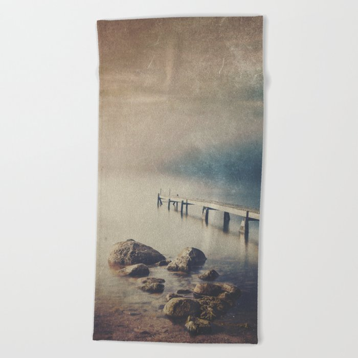 Dark Square Vol. 7 Beach Towel