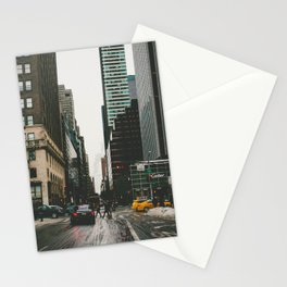 Winter In the Streets Stationery Cards