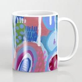 Abstract Drips Coffee Mug