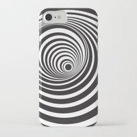 vertigo iPhone & iPod Cases featuring Vertigo by General Design Studio