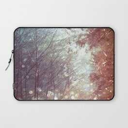 Magical Firefly Forest Laptop Sleeve