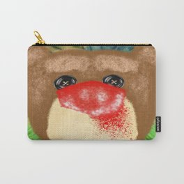 Bad Teddy Carry-All Pouch