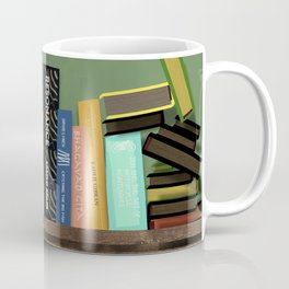 my bookshelf version 2. Coffee Mug