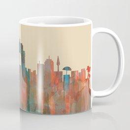 Wellington NZ Skyline - Navaho Coffee Mug