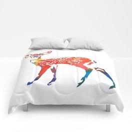 Rainbow Deer Comforters