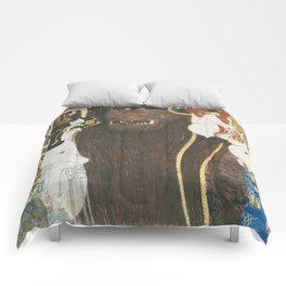 Beethoven Frieze Gustav Klimt Comforters
