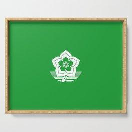flag of Harbin Serving Tray