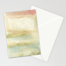 Pink Marshmallow Marsh Stationery Cards