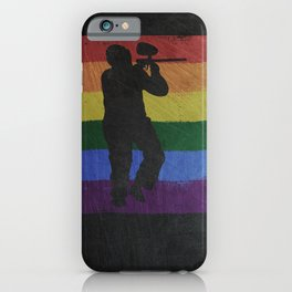 Paintball Airsoft Gotcha iPhone Case