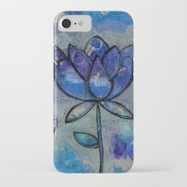 Abstract - Lotus flower - Intuitive iPhone Case