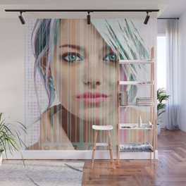 android model: emma Wall Mural
