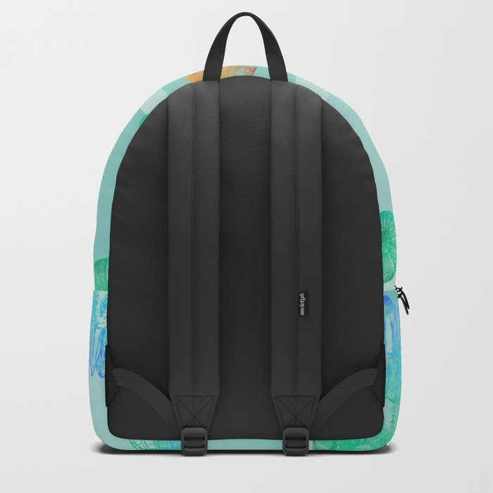 Marine Pattern 12 Backpack