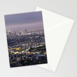 Los Angeles Nightscape No. 1 Stationery Cards