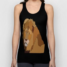 African Lion Unisex Tank Top