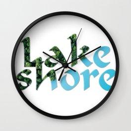 Lake shore Wall Clock
