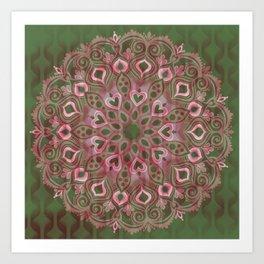 Gaussian Green Art Print