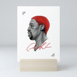 "Dennis ""91"" Rodman (Minimal Edition) Mini Art Print"